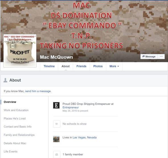 02AUG16 Mac Ebay Commando