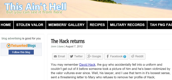 hack returns