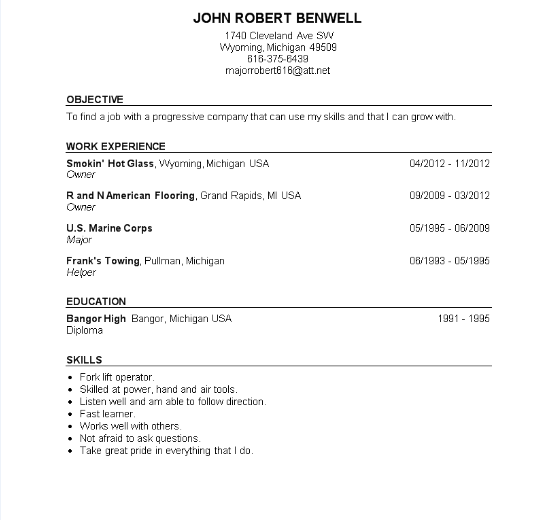 John Robert Benwell, US Marine Major POSER Blog Of Shame