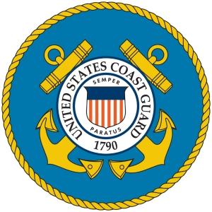 U.S. Coast Guard seal.