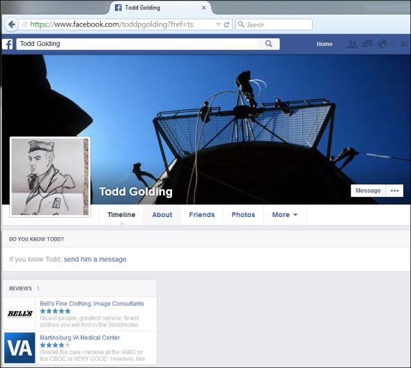 TPG- facebook account
