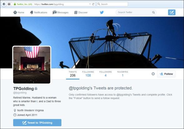 TPG-Twitter account