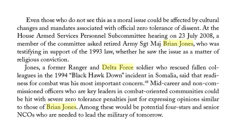BRIAN JONES - DELTA FORCE - 2