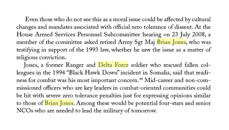 BRIAN JONES - DELTA FORCE - 2