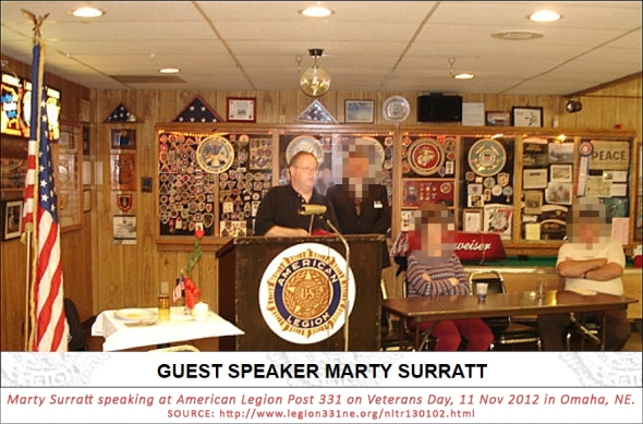 surratt-speaking