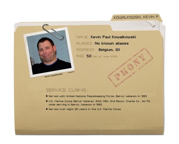 Kevin Paul Kowalkowski - Dossier