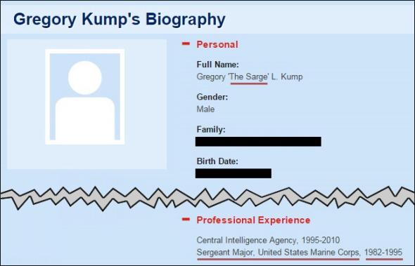 Kump - The Sarge