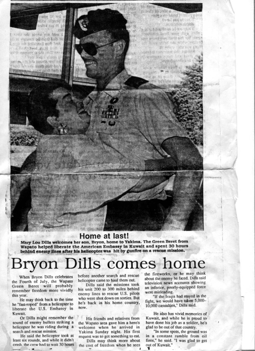 bryon gene dills  us army special forces poser  blog of
