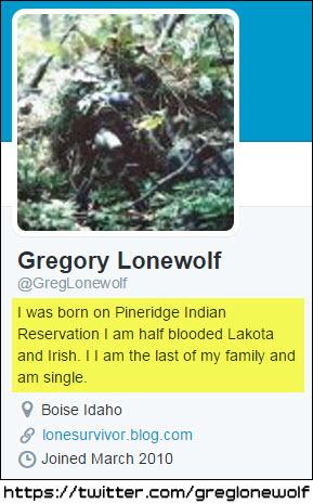 lonewolf - born