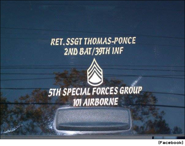 ... Special Forces, Retired Staff Sergeant, Combat Veteran, Blog of Shame