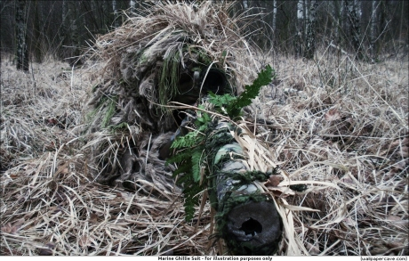 priest-ghillie suit