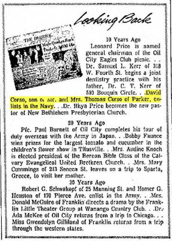Derrick Aug 6, 1969