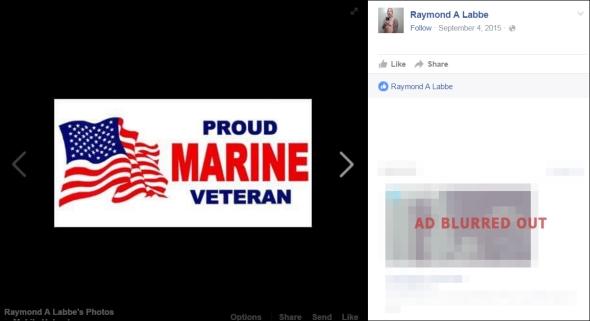 labbe-proud marine veteran