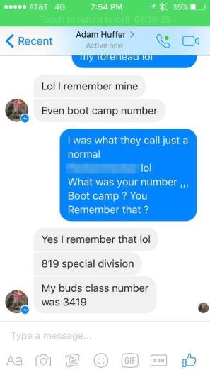 huffer - buds class 3419