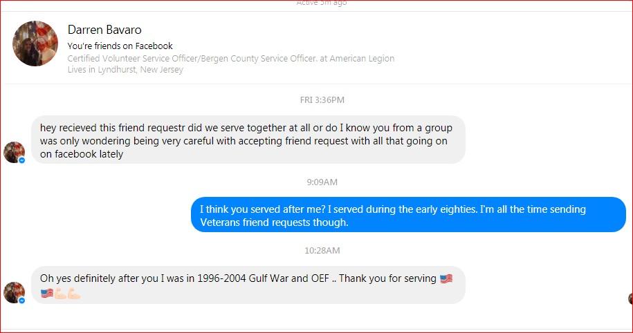 Darren Bavaro, US Navy Gulf War and Operation Iraqi Freedom Blog Of