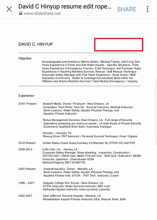 david charles hinyup fake navy seal military phonies