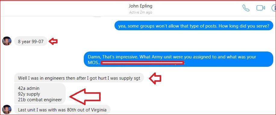 John Epling, US Army Operation Iraqi Freedom, Blog of Shame |