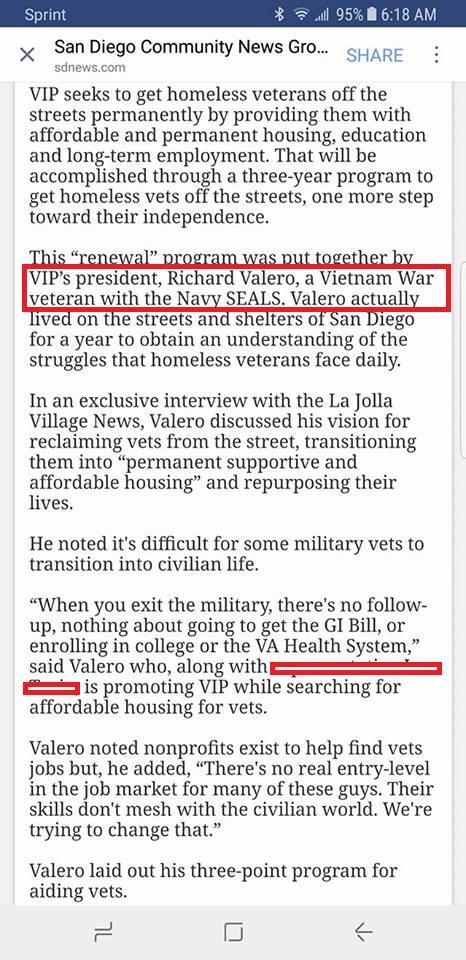 Richard Eric Valero – Fake Navy SEAL, Fake EOD and Fake