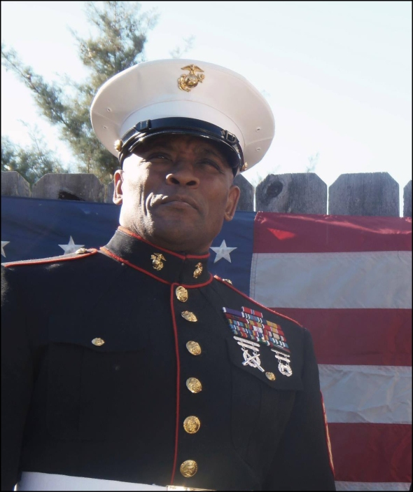 pearson-dress blues-flag