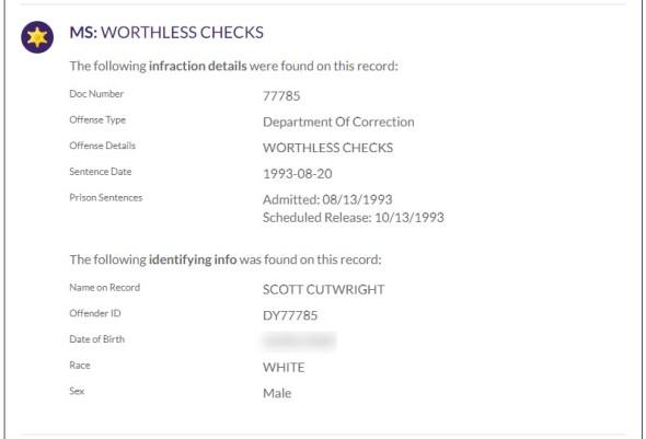 cutright-1993-CRIMINAL-WORTHLESS CHECKS